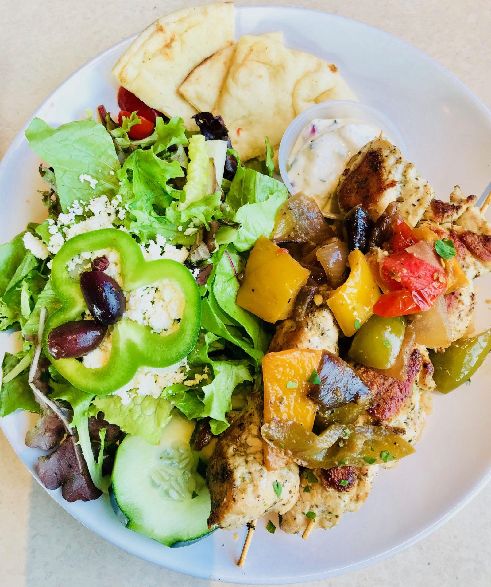Pick of the Week - Zoës Kitchen - Chicken Kabobs