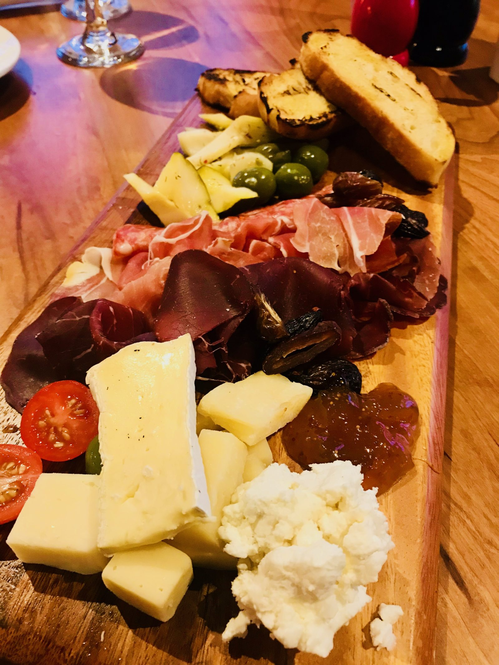 Pick of the Week - The Sicilian Butcher - Cured Meat and Cheese board