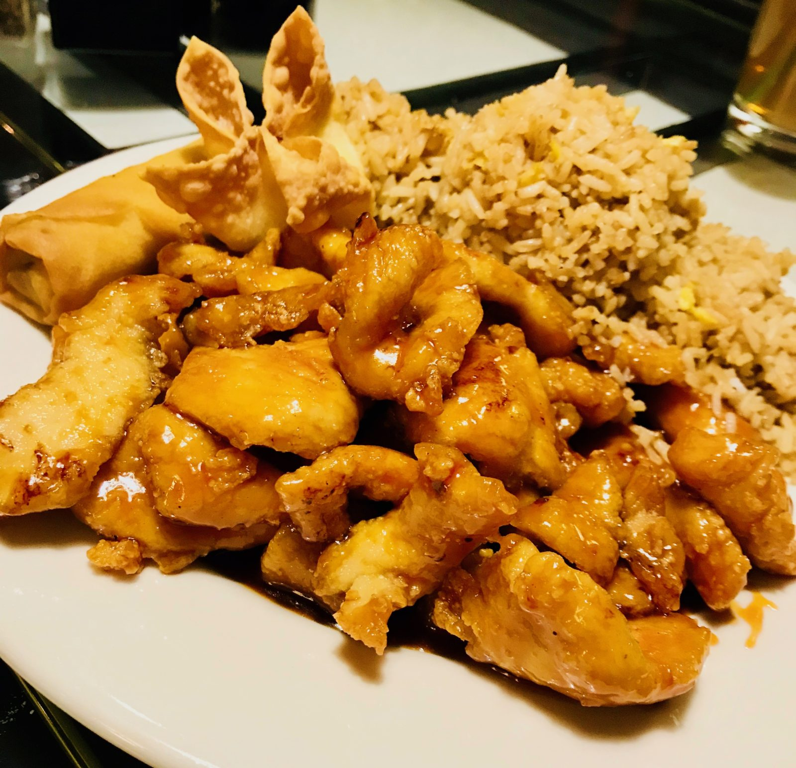Pick of the Week - Bamboo Cafe - Orange Chicken Dinner Combo with Fried Rice