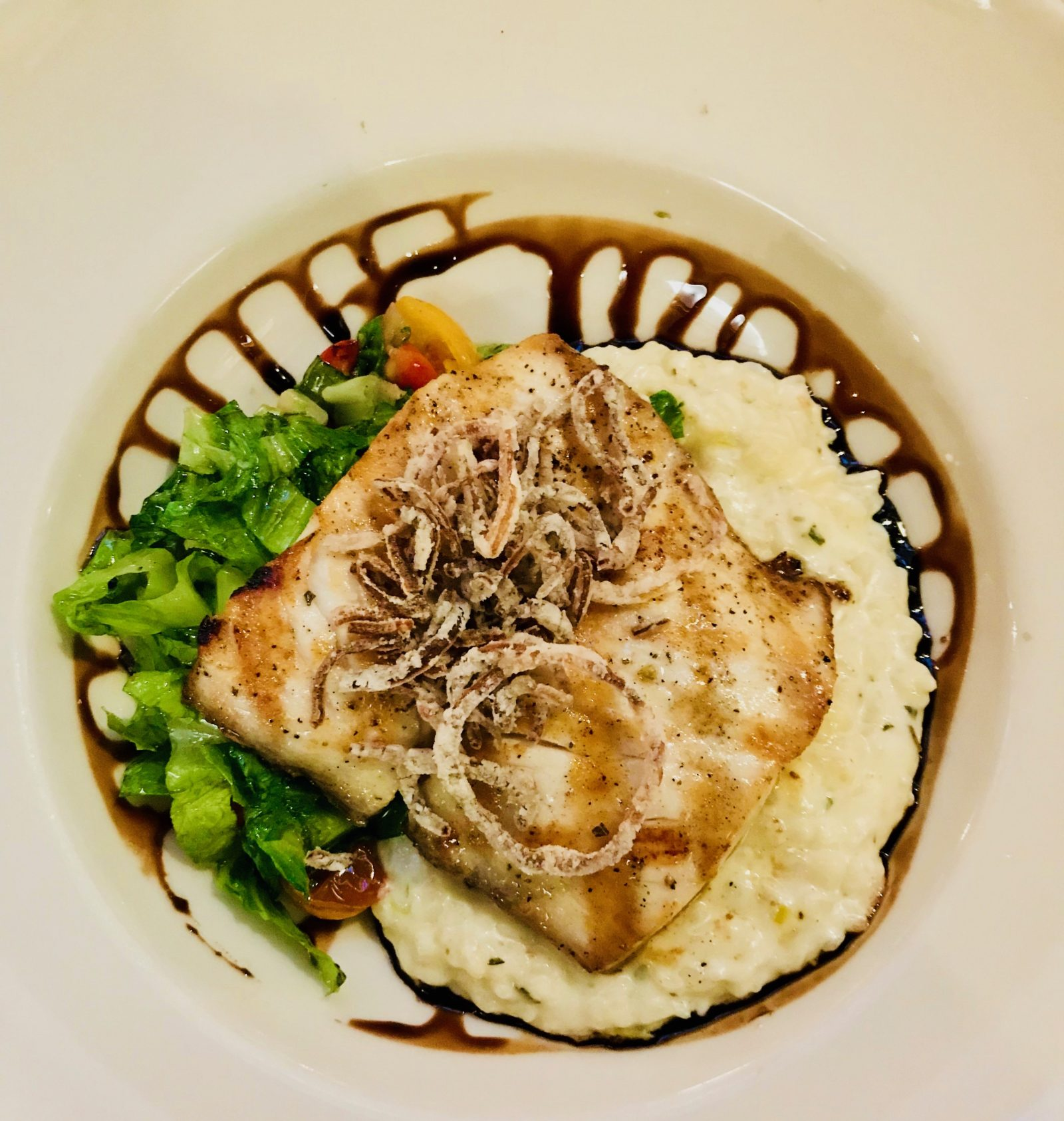 Pick of the Week - Bluewater Grill - Grilled Mahi Mahi with Risotto