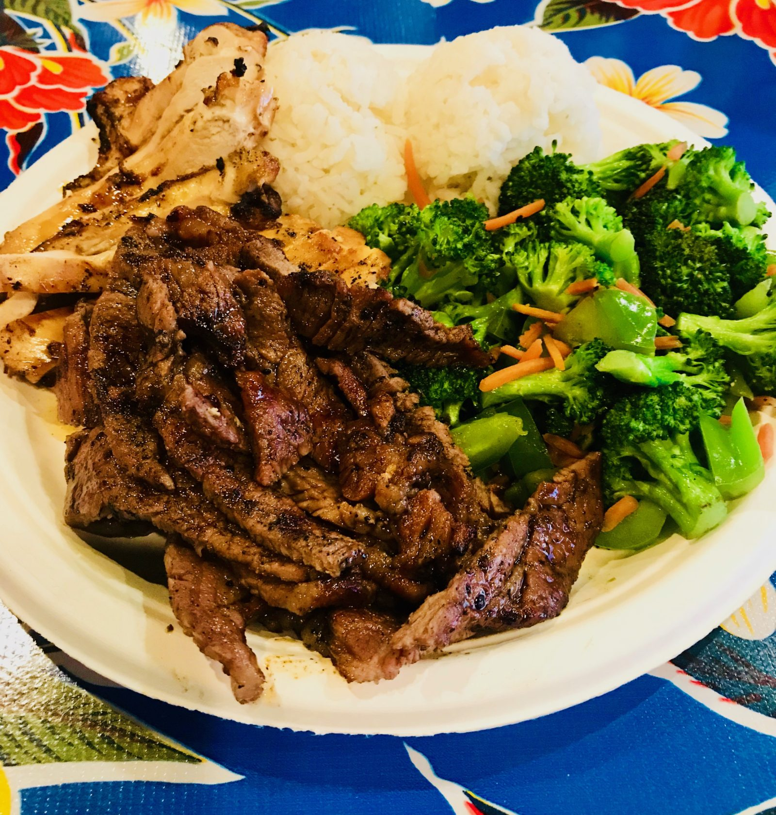 Pick of the Week - Mama's Hawaiian BBQ - Combo Plate with Teriyaki Beef and Teriyaki Chicken
