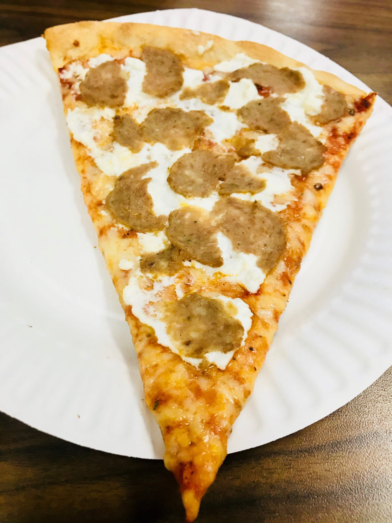 Pick of the Week - Ray's Pizza - Slice of Cheese with Meatball and Ricotta